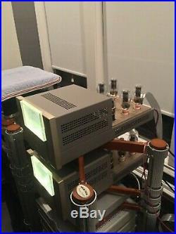 Canary Audio M600 Monoblock Amplifiers Built around 300B Triode Tubes