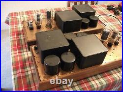 Cary 805 Prototype Monoblock Tube Amplifiers