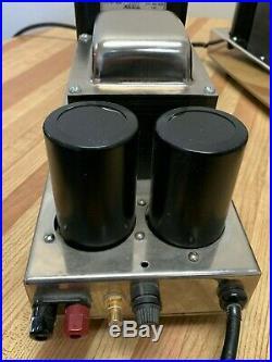 Cary Audio CAD-80M Tube Monoblock Pair Original Cary USA Made 6550 Output Tubes