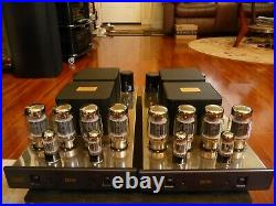 Cary Audio SLM-100 Monoblock Tube Power Amplifiers The Original Factory Boxes