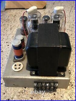 Chicago Standard Mono Block A-8072 TungSol 6SN7WGTA Mallory VDC500/450 NC Tubes