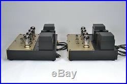 Conrad Johnson Premier 12 Vacuum Tube Monoblock Power Amplifiers 6550 Orig Boxes