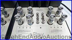 Conrad Johnson Premier 8A Vacuum Tube Monoblock Amplifiers Upgraded KT-120