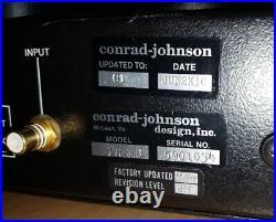 Conrad Johnson Premier 8A mono block tube power amplifier