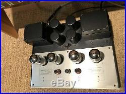Conrad-Johnson Premier Twelve Tube Monoblock Amplifiers, with C1 Teflon Upgrade