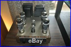 Custom Built Tube Amplifiers by Tube Nirvana 2 Mono blocks. KT120 based