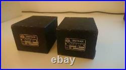 DYNACO A-410 Monoblock Tube Amplifiers With Unitran & Partridge Oil Transformer