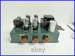 David Bogen PH10-1 Tube Monoblock Power Amplifier Harp-For Parts or Repair