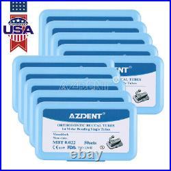Dental 1st Molar Bondable Monoblock Non-Conv Single MBT 022 Buccal Tube AZDENT