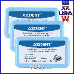 Dental 1st Molar Bondable Monoblock Non-Conv Single Roth 0.022 Buccal Tube