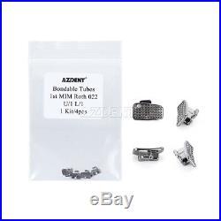 Dental Bondable 1st Molar Buccal Tube Monoblock Non-Convertible MBT/Roth 0.022