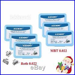 Dental Ortho Monoblock Buccal Tube 1st Molar Bondable Non-Conv Roth / MBT 0.022