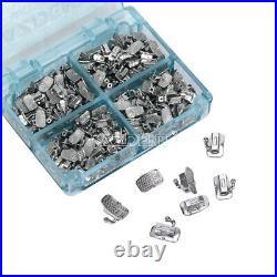 Dental Orthodontic Buccal Tube 1st 2nd Molar Bondable Non-Conv Roth MBT 018 022
