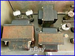 Dukane 1A475-A 75 Watts Tube Mono Block Amplifier