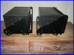 Dynaco AHT Model 6 Tube Mono Block Amps (Pair) May Not Be fully Functional Parts