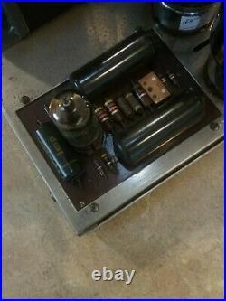 Dynaco Dynakit Mark III Monoblock Tube Amplifier Works Great Includes manual
