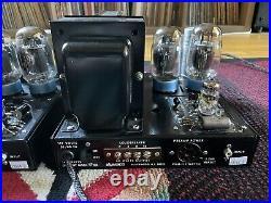 Dynaco Mark III 60w Tube Monoblock Power Amps Mk3 Mark 3
