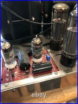 Dynaco Mark III Stereo Monoblock Tube Amp with Poseidon board