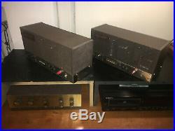 Dynaco Mark IV Tube Amplifier monoblock pair + Pas 2 Preamplifier 220V