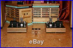 ECC99 300B hand made tube amplifier (mono block construction)