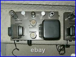 Eico Eh-22 Mono Block Power Amplifiers 6l6gc Tubes! Clean