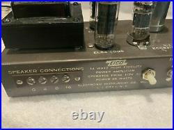 Eico HF-14 Mono Block Tube Amplifiers (2) EL84 6BQ5 Vintage Plug n Play