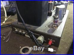 Eico HF-35 Mono Block Amplifier Tested working mullard EL-34 tubes