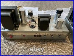 Eico HF60 / Unipower LW-958-A Monoblock Tube Amp Pair