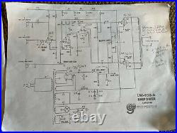 Eico HF60 / Unipower LW-958-A Monoblock Tube Amp Pair (Project)