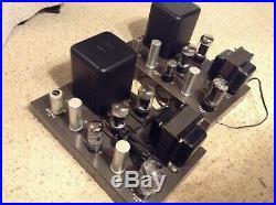 Eico Hf-22 Mono Block Tube Amplifier Nice Working Pair