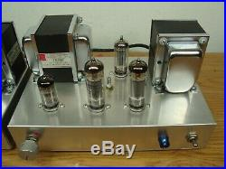 El84 6bq5 12ax7a Mono Block Tube Amplifier Pair