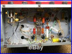 Estate Time Capsule Eico Hf-20 Tube Amp Mono Block Original 6l6 Tubes U Tube