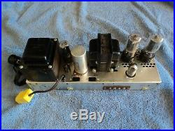 General Electric Pa-20 Integrated 6l6 Tube Amplifier, Monoblock Tube Amplifier