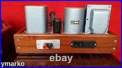 Gorgeous pair of classic Williamson Mono Block vacuum tube Amplifiers Valve Amps