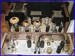HI-END 1950s MSS TUBE PRE-AMP/50W MONO-BLOCK GRAM-IN HADDON TRANS VOX AC50 LATHE