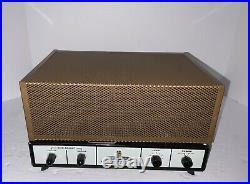 Heathkit AA-81 AA81 Tube Mono Block Amplifier Mullard EL34/6CA7 GZ34 Nice