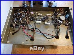Heathkit Full Tube Stereo System 2 Monoblock W4AM 2 Tube Preamps 2 EV Speakers