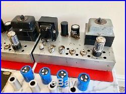 Heathkit MA12 Valve Tube Monoblock Amplifiers Pair EL84 Leak TL12+ EMI EMG