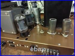 Heathkit W-5M Mono Block Tube Amp Peerless O/P Read