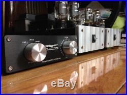Jeff Rowland lover look Rockapella Preamp 6L6 Mono Block Tube Power Amplifier