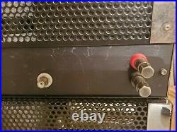 Julius Futterman OTL 3 Tube Amplifiers! 300 watt monoblock POWERHOUSE AMPS! RARE