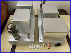 KT150 single end tube mono blocks, custom hand made, perfect sounds