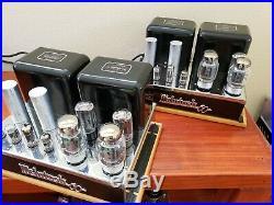 Legendary McIntosh MC-60 pair Monoblock Vacuum Tube Amplifiers rebuilt with VCap