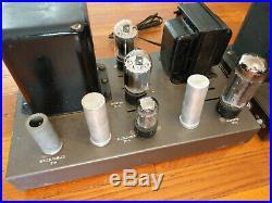 Lowest Price Pair EICO HF-22 Tube MONO BLOCK Power Amplifiers, Vintage Tubes