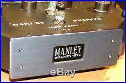MANLEY SNAPPER Tube Amp Monoblock