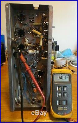 MOTOROLA 6V6GT MONOBLOCK MODEL HS-632 TUBE AMPLIFIER 5K23M-1A With SAMS PHOTOFACT