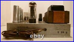 Magnavox Amp 150 Bb Monoblock Power Amplifier 4 X 6v6 Output Tubes