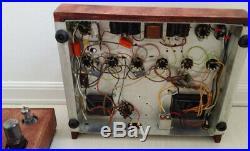Magnavox tube amplifier Mono Blocks 142AA