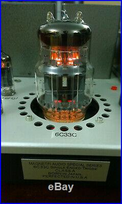 MagnetFi Audio Special Series 6C33C Single Ended Triode SET Monoblock Tube Amps