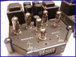 Manley Mahi High End Tube Mono block power amplifiers